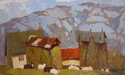 Aleksander Britsev - Noon in the Mountains