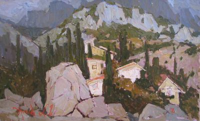 Aleksander Britsev - House in the Mountains