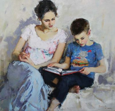 Olga Grigoryeva - Reading Book