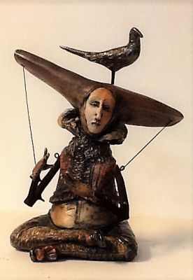 Select Sold Works: Gumaelius - Waiting for the Winged Hat to Take Flight