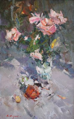 New Works - Roses and Peaches