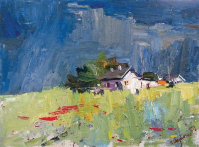  Select Sold Works: Ruslan Ivashenko - Last Cottage