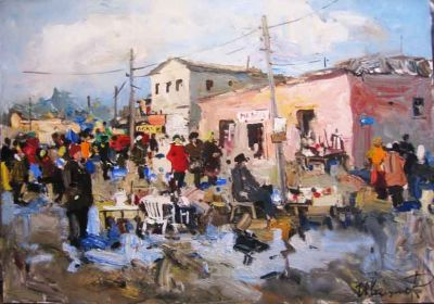  Select Sold Works: Ruslan Ivashenko - Spring Market