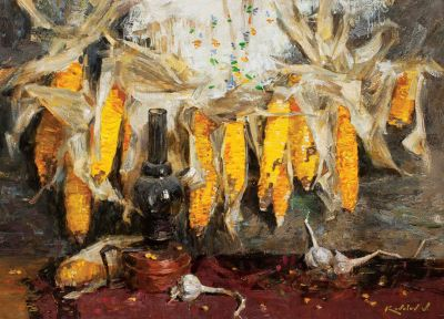 Vladimir Kovalov - Still Life With Corn