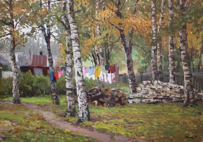 Sold Works: Vladimir Krantz - At the Dacha