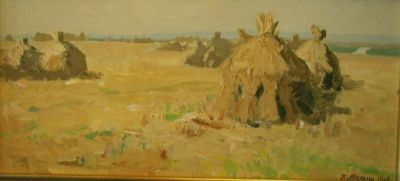 Sold Works: Gavriil Malysh - Haystacks