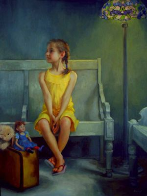 Select Sold Works: Marci Oleszkiewicz - Anticipation