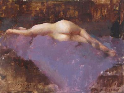 Select Sold Works: Marci Oleszkiewicz - Nude Posterior