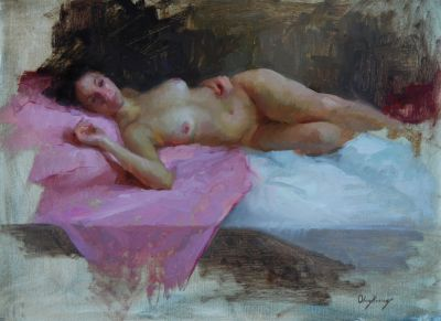 Select Sold Works: Marci Oleszkiewicz - Repose