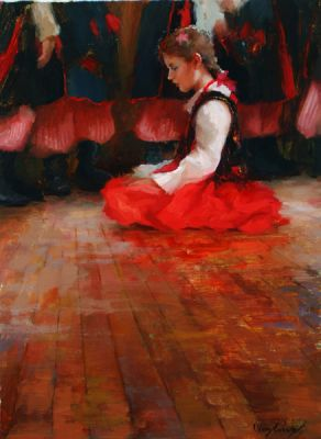 Select Sold Works: Marci Oleszkiewicz - Lonely Performer