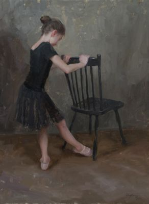 Select Sold Works: Marci Oleszkiewicz - Battement Tendu