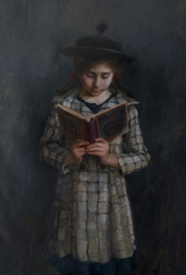 Select Sold Works: Marci Oleszkiewicz - McGuffy′s Reader