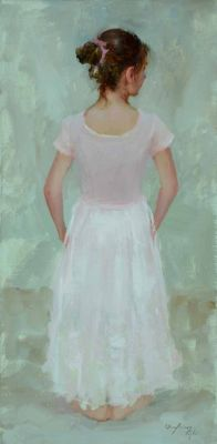 Select Sold Works: Marci Oleszkiewicz - Pink Ballerina