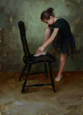 Select Sold Works: Marci Oleszkiewicz - Pink Slipper