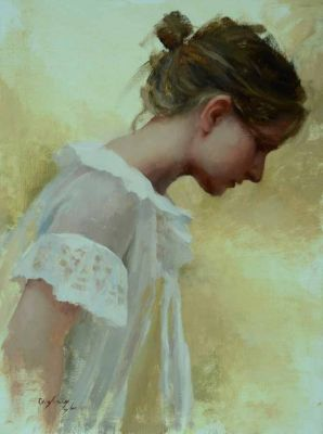 Select Sold Works: Marci Oleszkiewicz - Ruffles