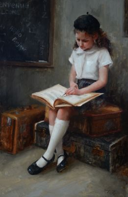 Select Sold Works: Marci Oleszkiewicz - First Lessons