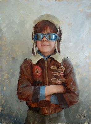 Select Sold Works: Marci Oleszkiewicz - The Pilot