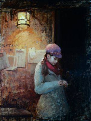 Select Sold Works: Marci Oleszkiewicz - Waiting on a Dream