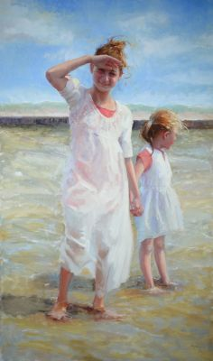 Select Sold Works: Marci Oleszkiewicz - Summer by the Lake