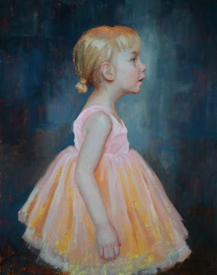 Select Sold Works: Marci Oleszkiewicz - Tiny Dancer
