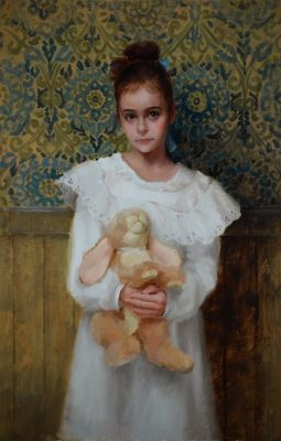 Select Sold Works: Marci Oleszkiewicz - Viviens Velveteen Rabbit