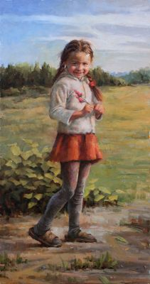 Select Sold Works: Stan Prokopenko - Girl from Korovie