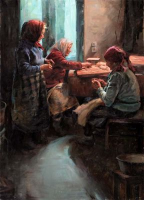 Select Sold Works: Stan Prokopenko - Family Tradition