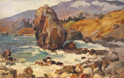 Sold Works: Erikh Rebane - Coast near Yalta