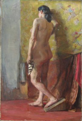 New Works - Standing Nude, 1940s