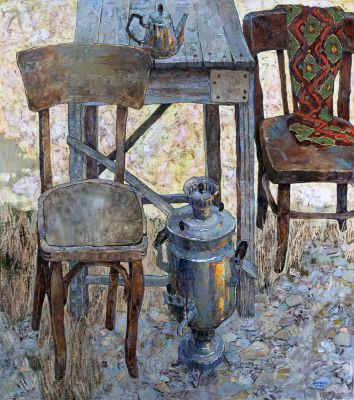 Select Sold Works: Denis Sarazhin - Chair and Samovar
