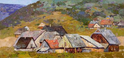 Select Sold Works: Denis Sarazhin - Western Village