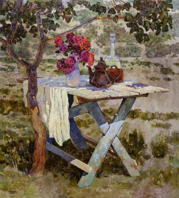 Select Sold Works: Denis Sarazhin - Under the Branches of a Young Willow