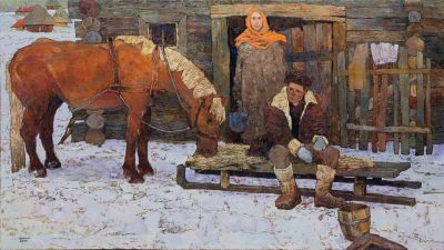 Denis Sarazhin - Winter Yard