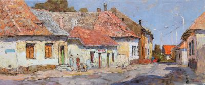 Select Sold Works: Denis Sarazhin - Street in Hungary