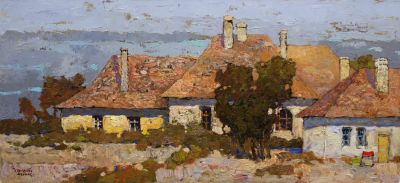 Select Sold Works: Denis Sarazhin - Hungarian Hamlet, Evening