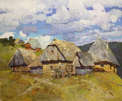 Select Sold Works: Denis Sarazhin - On the Farm
