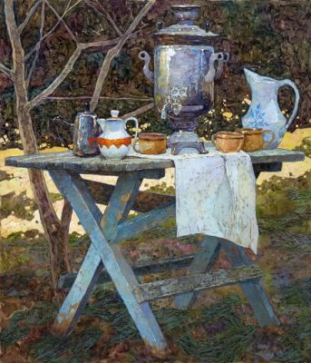 Select Sold Works: Denis Sarazhin - Disappearing Evening