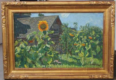 A & S Tkachev - Sunflowers, 1973