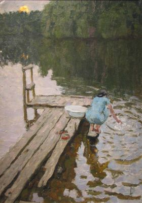 A & S Tkachev - On the Wooden Walkway