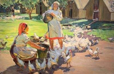 Evdokiya Usikova - Happy Workers