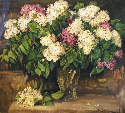 Select Sold Works: Ivan Vityuk - Lilacs