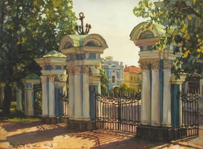 Select Sold Works: Ivan Vityuk - Gates to Nikolskogo Cathedral