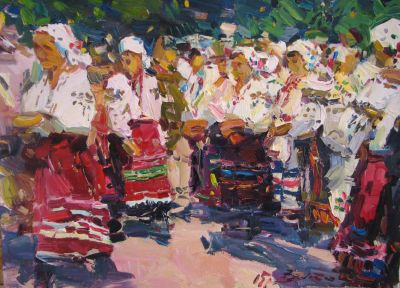 Select Sold Works: Ivan Vityuk - Festival Day