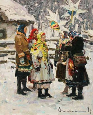Select Sold Works: Ivan Vityuk - Carolers