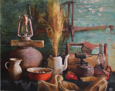 New Works - Still Life with Scale