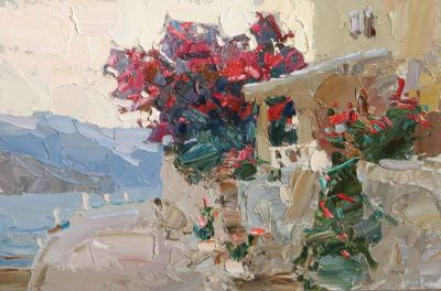 Select Sold Works: Daniil Volkov - Flowering Shrubs