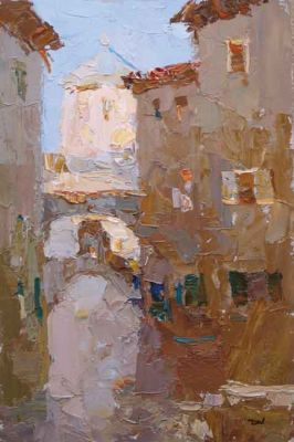 Select Sold Works: Daniil Volkov - In the Old City