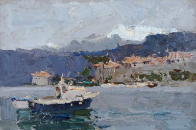 Select Sold Works: Daniil Volkov - In the Port