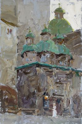 Select Sold Works: Daniil Volkov - Old Church
