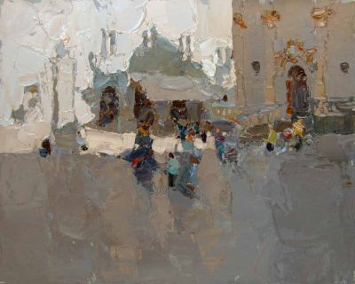 Select Sold Works: Daniil Volkov - On the Square